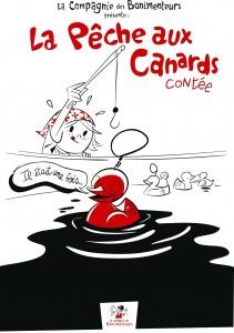 affiche pêche aux canards